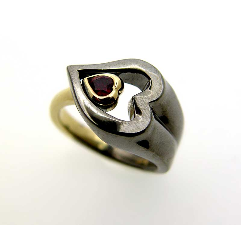 A ring designed by Mark Loren to support local public radio
