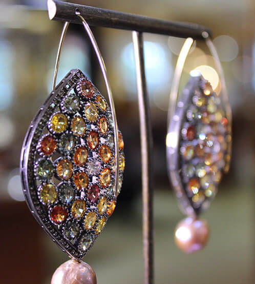 Earings by Mark Loren Designs