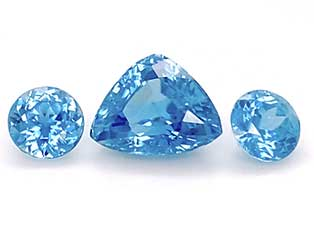 spectacular suite of Cambodian blue zircons is from our Loose Gem Collection